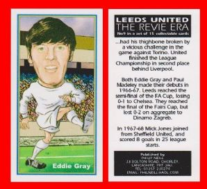 Leeds United Eddie Gray Scotland 9